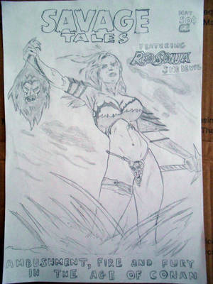 Savage Tales feat. Red Sonja by SylentEcho88