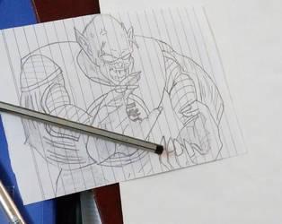 Piccolo Daimao / King Piccolo by SylentEcho88
