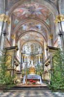 Cystersian Monastery 3 by kwusherARTS