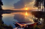 Nieslysz Lake by kwusherARTS