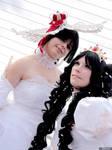 Yuuko and Himawari by Nerine-ayalaure