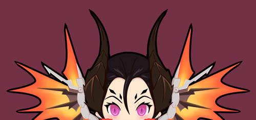Devil Mercy Peeker by kinokashi
