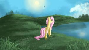 Fluttershy by Aelwyng