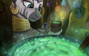 Zecora's potion by Aelwyng
