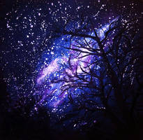 Night Sky by NadineSabbagh