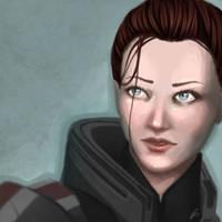 Mass Effect: Grace Shepard by AlanaKai