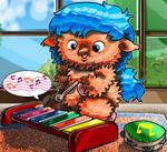 Fluffy e la musica by DAVIDE76