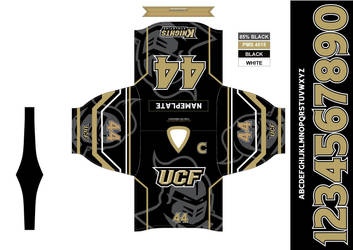University of Central Florida Hockey Jersey - Away by dkalinosky on  DeviantArt 8439d1943b6