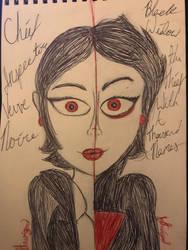 Inspector Veuve Noire/ Black Widow by izthewizard