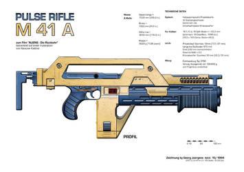 M41a Pulse Rifle by Paul-Muad-Dib