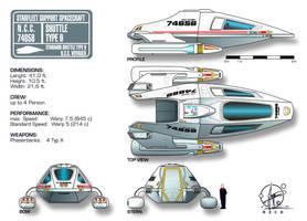 Star Trek Shuttle Typ 9 by Paul-Muad-Dib