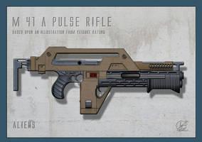 Alien -  M41a Pulse Rifle by Paul-Muad-Dib