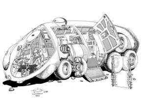 Triangle Wheel Vehicle by Paul-Muad-Dib