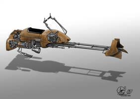 Star Wars Speeder Bike by Paul-Muad-Dib