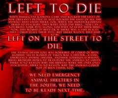 LEFT TO DIE by wiht