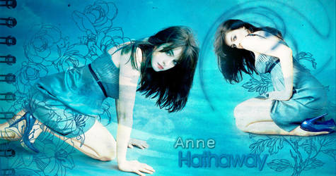 Anne Hathaway 4 by meli30stm