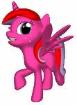 Strawberry Twinkle 3D something by SchattenspielKat