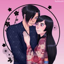 Youhei and Nozomi by YuiHoshi