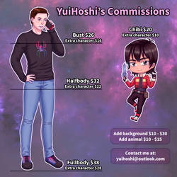 Commissions Info by YuiHoshi