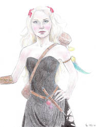 Serafina Pekkala - coloured by Maitia