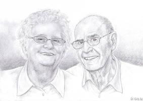 Grandparents by Maitia