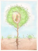 Pamphlet illustration by Maitia
