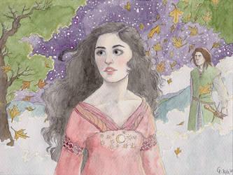 Luthien in Valinor by Maitia