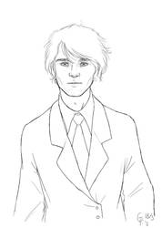Sketchy Logan by Maitia