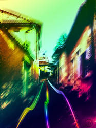 The Rainbow Street by Satsuki-Hyphen