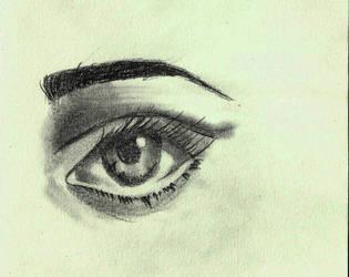 Eye practice by Reem-eid