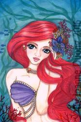 Little Mermaid Ariel by JoLuffiroSauce