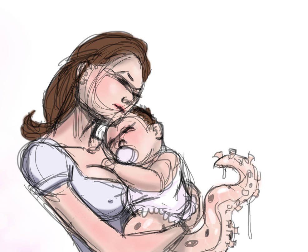 Mommy's love is unconditiona...even if you have a by KennBaker
