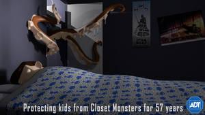 Closet Monster by KennBaker