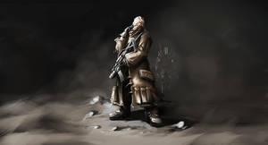 soldier 01 by LopSkull