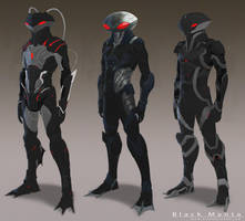 Black Manta by He11Bringer