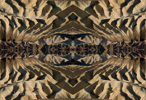 Zabriske Point Badlands 4 Way Match 1 by JBaxterPhotography