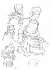 More Final Fantasy 6 characters by Sarc06