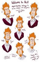Mephistopheles - W2H Sketchdump by Psychia98