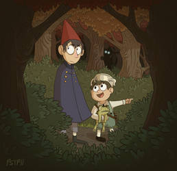 Over The Garden Wall by Psychia98
