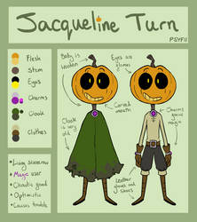 OC Reference Sheet: Jacqueline Turn by Psychia98