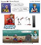 Kingdom Hearts Failing Biology by brightling