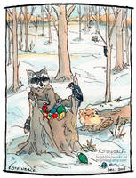 Winter Treasures by brightling