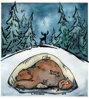Winter Slumber, 2015 by brightling