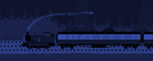 Thomas Taking The Night Express by EngineNumber14
