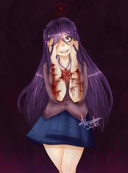 DDLC yuri by Aracelery