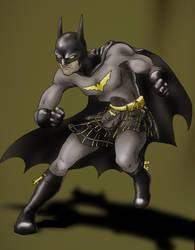 Batman's kilt by Tinted-dreams