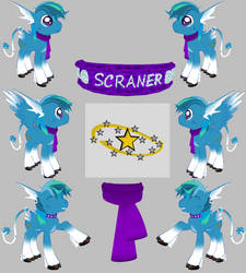 Scraner Pony Reference Sheet by Scraner
