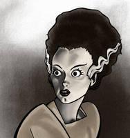 Frankenstein's Bride by BloodyWilliam