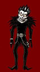 Mr. DeMartino as Ryuk by BloodyWilliam