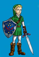 Jamie White as Link by BloodyWilliam